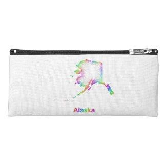 Rainbow Alaska map Pencil Case