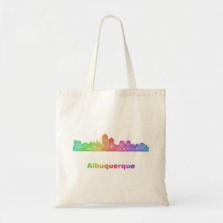Rainbow Albuquerque skyline