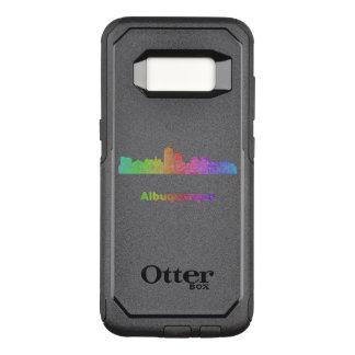 Rainbow Albuquerque skyline OtterBox Commuter Samsung Galaxy S8 Case