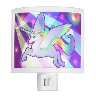 Rainbow Alicorn Night Lights