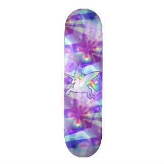 Rainbow Alicorn Skate Board Decks