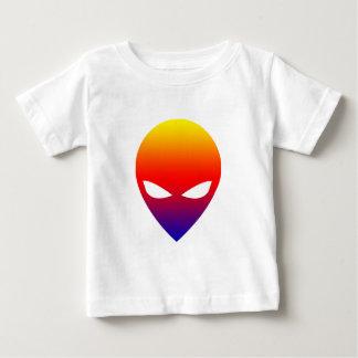 Rainbow Alien Baby T-Shirt