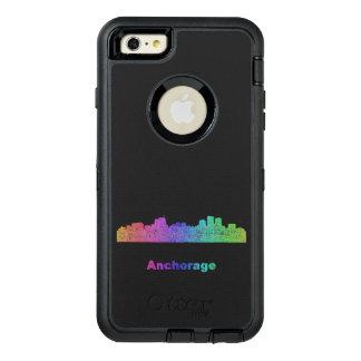 Rainbow Anchorage skyline OtterBox iPhone 6/6s Plus Case
