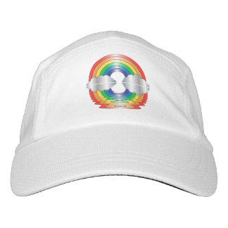 Rainbow and Clouds Reflection LGBT PRIDE Hat