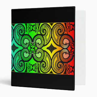 Rainbow And Curly's 3 Ring Binders