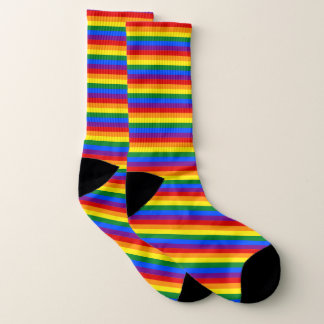 Rainbow and Happiness Socks