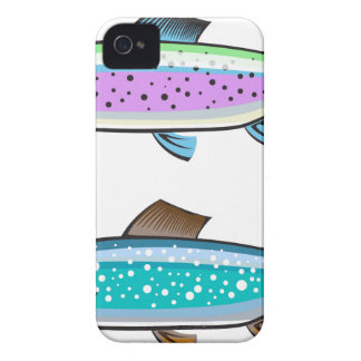 Rainbow and Lake trout iPhone 4 Covers