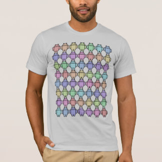 Rainbow android T-Shirt