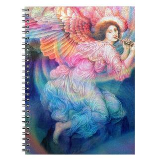 Rainbow Angel Spiral Notebook