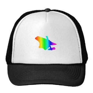 Rainbow Anvil Trucker Hat
