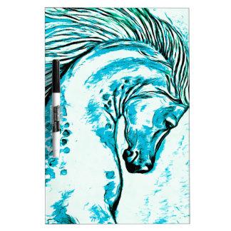 Rainbow Arabian Manga Teal Dry-Erase Whiteboards