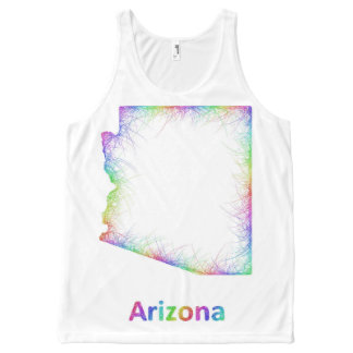 Rainbow Arizona map
