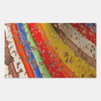 Rainbow Art Glass Sticker