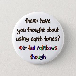 Rainbow Artist Button