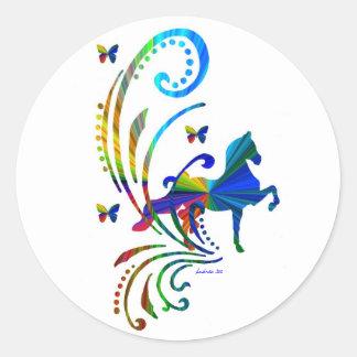 Rainbow ASB Classic Round Sticker