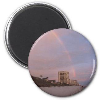 Rainbow at Daytona Beach Magnet