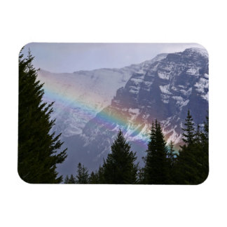 Rainbow at Glacier National Park - Mountains Magnet