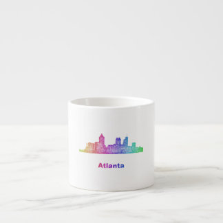 Rainbow Atlanta skyline