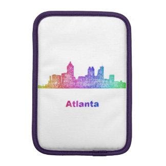 Rainbow Atlanta skyline iPad Mini Sleeve