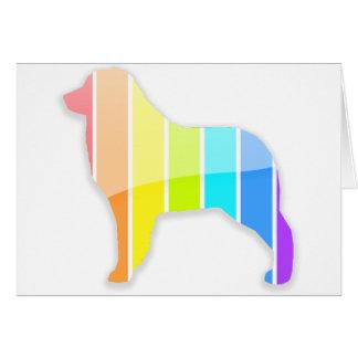 Rainbow Aussie Card