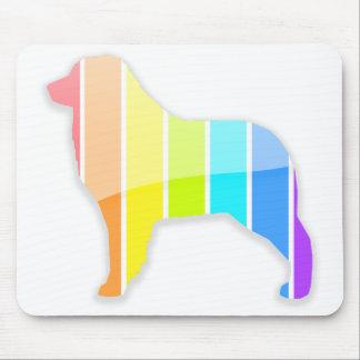 Rainbow Aussie Mouse Pad