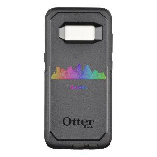 Rainbow Austin skyline OtterBox Commuter Samsung Galaxy S8 Case