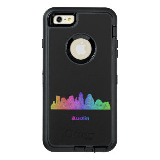 Rainbow Austin skyline OtterBox iPhone 6/6s Plus Case