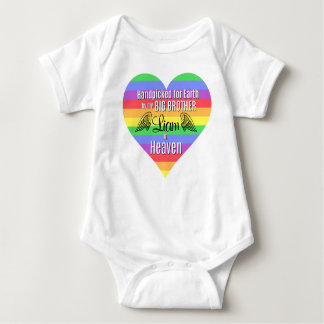 Rainbow Baby | Big Brother | Personalized Bodysuit