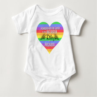 Rainbow Baby | Big Sister | Personalized Bodysuit