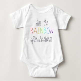 Rainbow Baby Outfit Baby Bodysuit