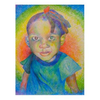 Rainbow Baby Postcard