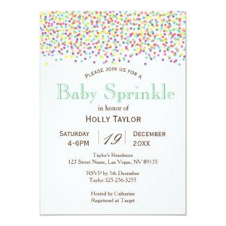 Rainbow Baby Sprinkle Invitation
