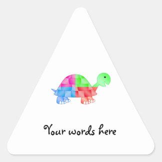 Rainbow baby turtle sticker