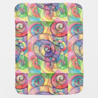 Rainbow Baby Vortex Blanket