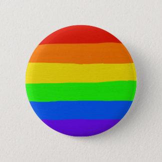 Rainbow Badge 2 Inch Round Button