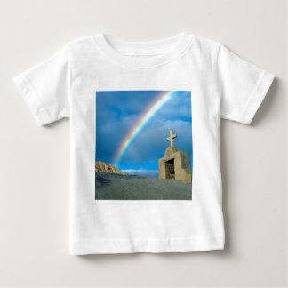 Rainbow Bahia De Los Angeles Mexico Baby T-Shirt