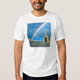 Rainbow Bahia De Los Angeles Mexico T-shirts