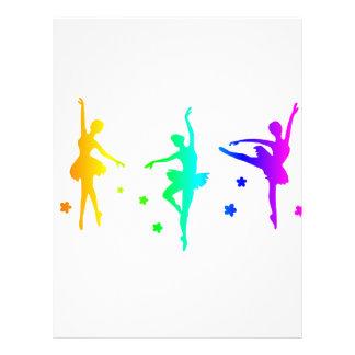Rainbow Ballet Letterhead