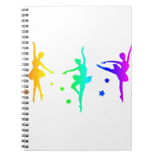 Rainbow Ballet Notebook