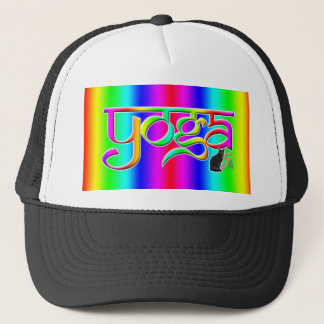Rainbow Band Yoga Trucker Hat