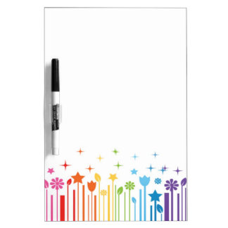 Rainbow Bar Code Dry Erase Board