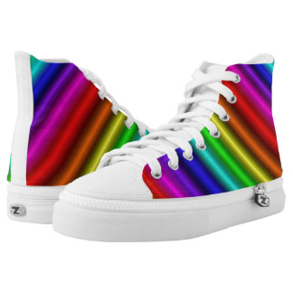 Rainbow Bars Candy Shoes