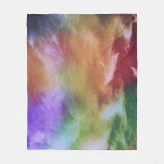 Rainbow Batik Fleece Blanket