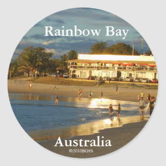 Rainbow bay, sticker