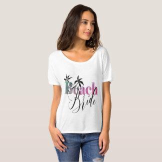 RAINBOW BEACH BRIDE - BLACK SCRIPT T-Shirt