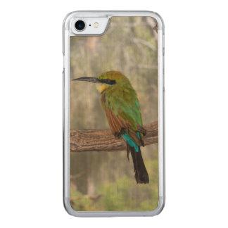 Rainbow bee-eater bird, Australia Carved iPhone 8/7 Case