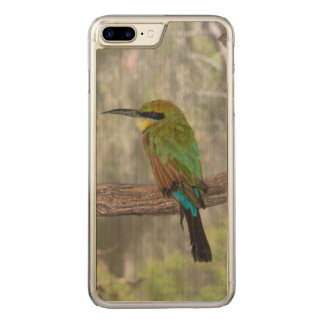 Rainbow bee-eater bird, Australia Carved iPhone 8 Plus/7 Plus Case