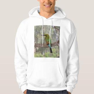 Rainbow bee-eater bird, Australia Hoodie