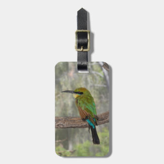 Rainbow bee-eater bird, Australia Luggage Tag