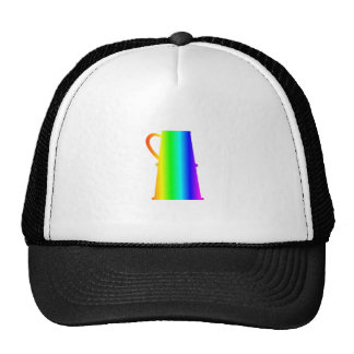 Rainbow Beer Stein Trucker Hat